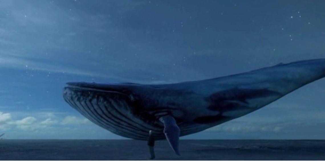 الحوت الازرق
