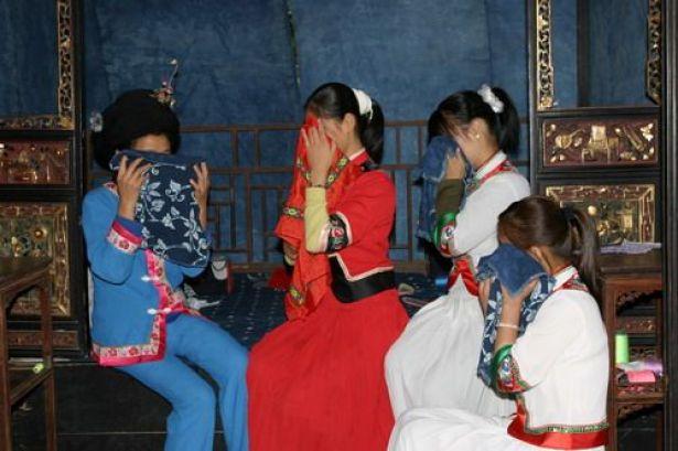 شعب التويجا في وسط الصين