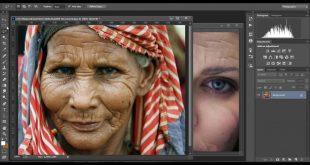 تغيير ملامح الوجه باستعمال الفوتوشوب