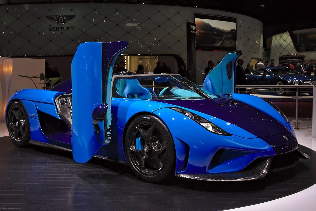 كونيغسيغ سي سي إكس أر تريفيتا Koenigsegg CCXR Trevita