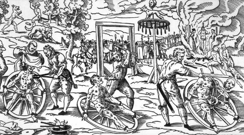 أدوات لتعذيب محاكم التفتيش