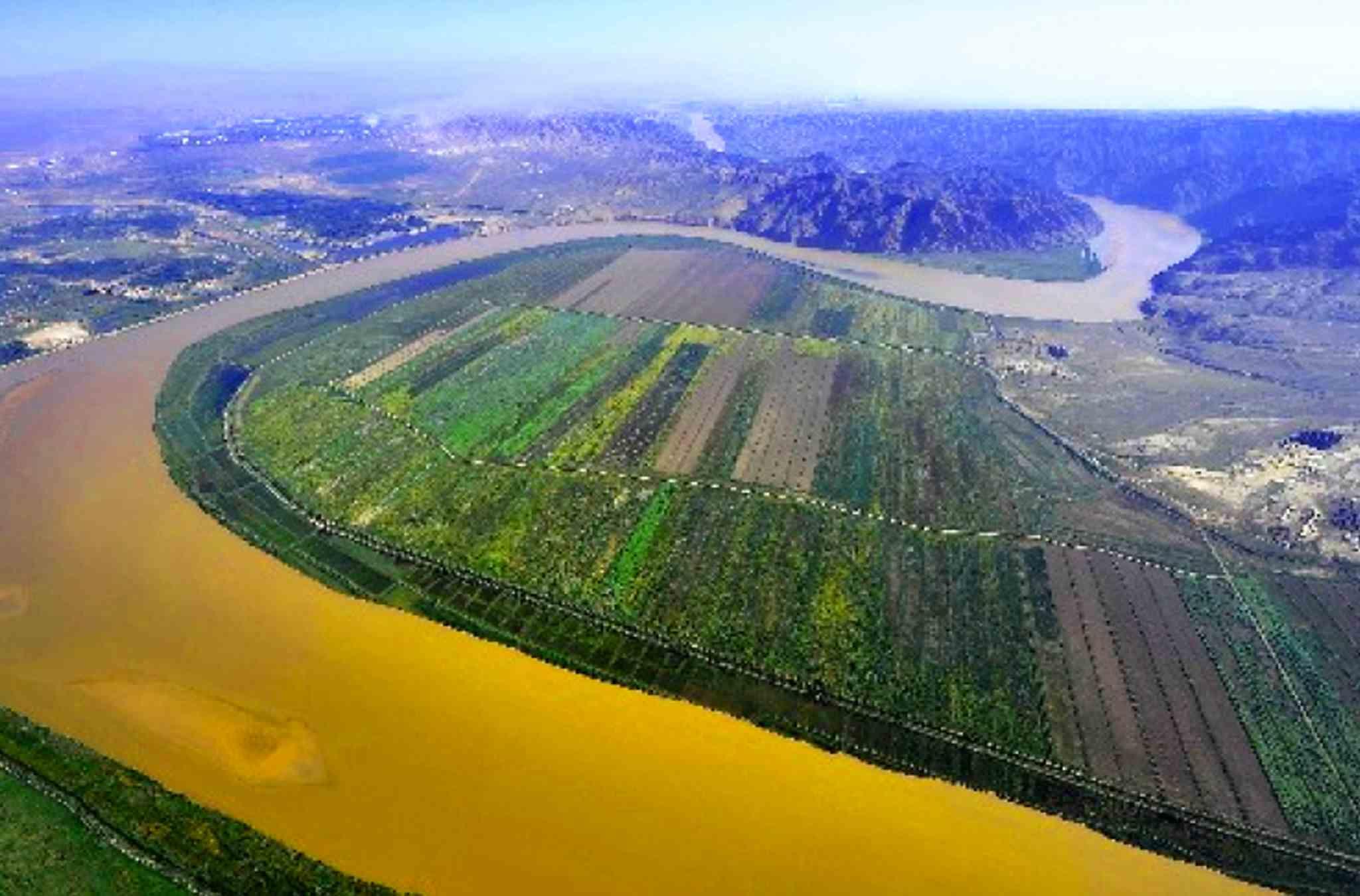 النهر الأصفر ،