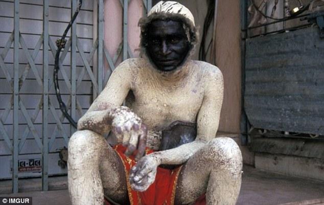 تعيين الرجل الهندي كقرد