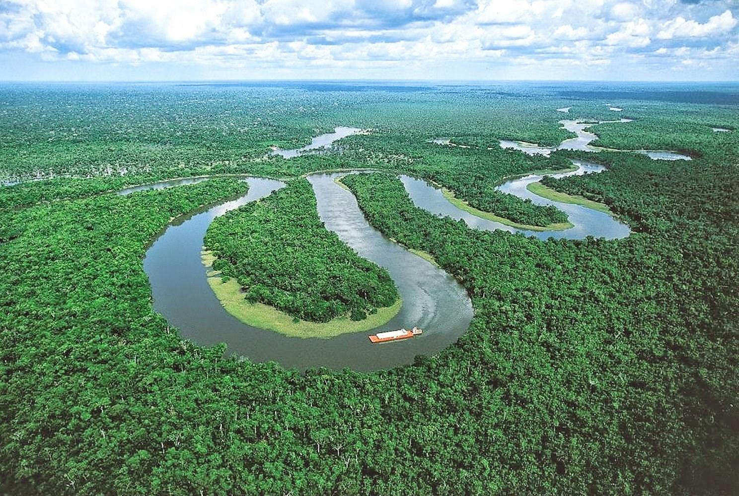 2. نهر الأمازون
