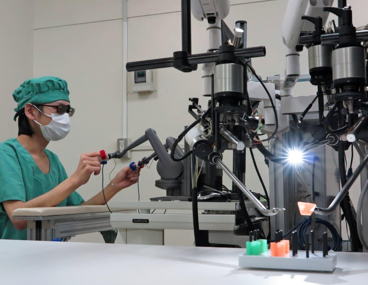 طريقة الجراحة الروبوتية